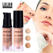 Lulaa полное покрытие 3 цвета консилер жидкое косметическое средство для глаз темные круги крем корректор для лица водостойкий Макияж Косметика Красота TSLM1