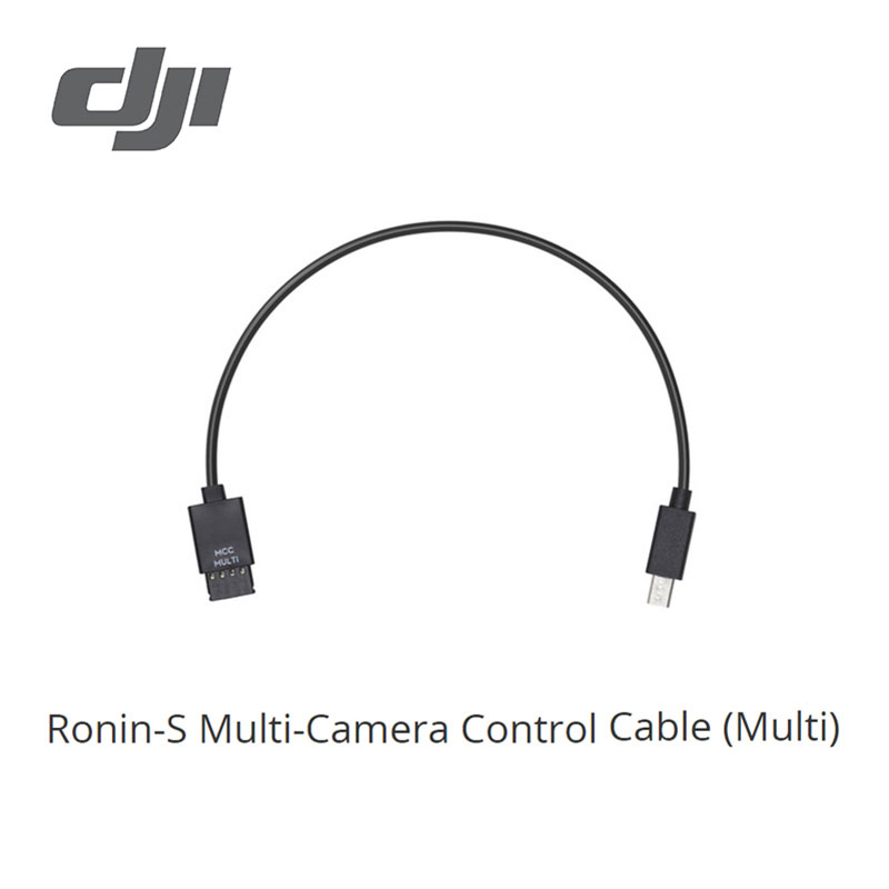 DJI Ronin S Multi Camera Control Cable (Multi) Connect Your Sony Camera To The Ronin S Camera Control Port Compatibility Ronin S