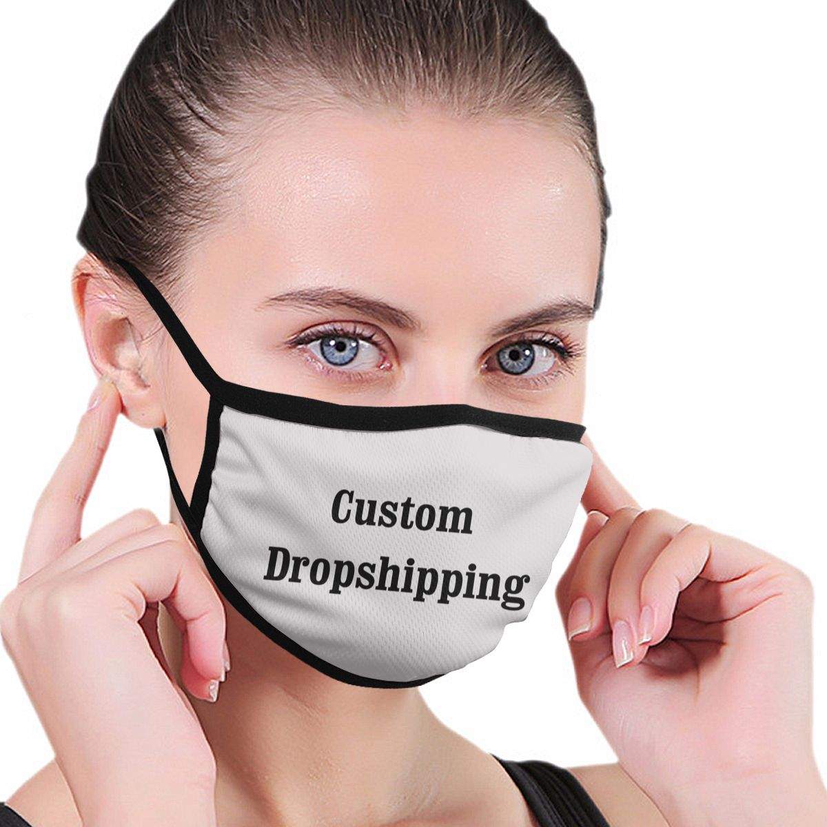 Brand Mask Outdoor Mascarillas Respirator Keep Warm Custom Masks Winter Anti Dust Unisex Fashion Black Border Dropshipping