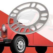 Espaciador de rueda de coche, 4 Uds. De 5mm, placa de cuñas 4 5 STUD Universal para Auto 4x4x100 114,3 5x100 5x108 5x114,3 5x120 Etc.