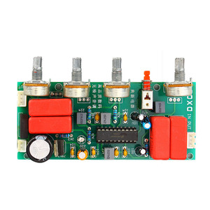 Image 4 - LM1036 Preamp  Amplifier Audio Tone Board Treble Bass Volume Control Adjustment Board DC/AC 12V B1 004