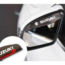 Car-Rearview-Mirror Sx4-Accessorie Jimmy IGNIS SUZUKI VITARA Sun-Visor Rain-Eyebrow Universal