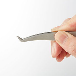 Image 3 - Yelix new false eyelash tweezers volume Tweezers Eyelash Extension For Professionals Tools Stainless Steel Hyperfine Makeup