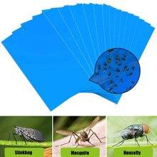20 шт. удобные Экономичные насекомые-вредители липкие доски прочные ловушки для мух двухсторонняя тля GnatsLeaf ловля тли насекомых