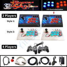 Gamepad Arcade Console Video-Game Support-Wifi 3d Pandora 2/4-Players 4188-In-1 Saga-Box