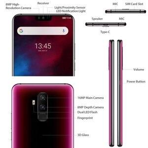 "Image 4 - Ulefone T2 Android 9.0 Mobilofoon 6.7 ""FHD + Screen MT6771T Helio P70 Octa Core 6GB + 128GB NFC Gezicht ID Draadloze Lading Smartphone"