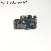 中古オリジナルblackview A7 メインボード 1 グラムram + 8 グラムromのマザーボードblackview A7 MTK6737 5.0 インチhd 1280 × 720 スマートフォン