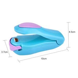 Image 5 - Draagbare Warmte Sealer Plastic Zak Opslag Packet Mini Sluitmachine Handige Sealers Gemakkelijk Resealer Voor Voedsel Snack Keuken Gadgets