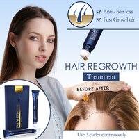 Эссенция для роста волос, тройной роликовый массажер для защиты от выпадения волос, инструменты для роста волос, продукты для ухода за волос...