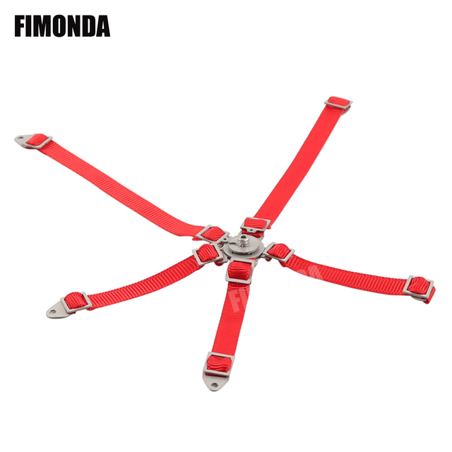 Racing 1//10 Scale 5 Point Seat Belt For RC Crawler Axial SCX10 90046 90047 90027