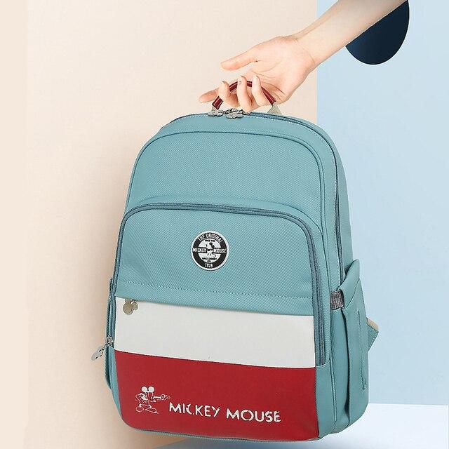 Disney Baby Diaper Bag Fashion Mummy Maternity USB Heating Nappy Bag Travel Backpack Designer Stroller Nursing Baby Care Bag New Bags Kids