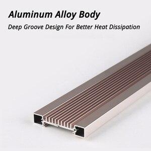 Image 4 - Nicrew Iluminación Led ultradelgada de aleación de aluminio para acuario, iluminación LED de 6500 7500K para acuario, 12W 24W