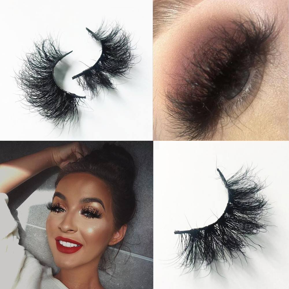 Morwalendi 3D Mink Lashes Mink Eyelashes False Eyelashes Super Fluffy Reusable Crisscross Cilios Glamorous For Dramatic Makeup
