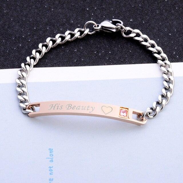 Men Women Bracelet Crown...