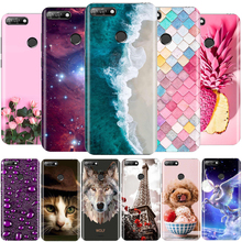 for Huawei Honor 7A Case 5.7 Inch Phone Silicone Back Cover Pro Aum L29 Funda Coque