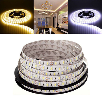 цена на Bright 5M IP65 Waterproof /No LED Strip Light 5630 SMD DC12V 60Leds/M 5730 Bar Flexible Light Brighter Than 3528 5050 Led Tape