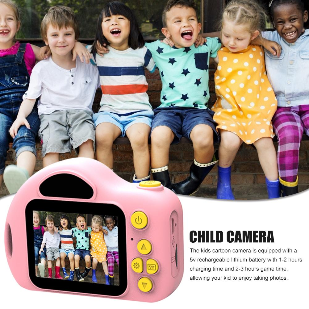 High Quqlity Kids Camera 1080P HD Mini Sports Digital Video Camera With 32GB Card Kids Toys Birthday Gift Toys For Children