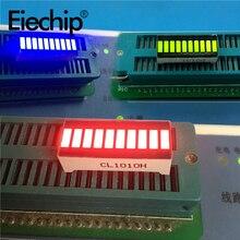 Led Display Module red blue green light bar|10-segment LED digital tube 20 pins 8 character 25x10mm DIY LED displays for Arduino