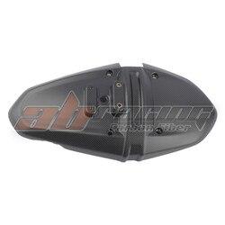 Rear Tire Hugger Fender Number Plate Holder Cover For MV Agusta Brutale 675 / 800 / 800RR Dragster 800 / RR Full Carbon Fiber