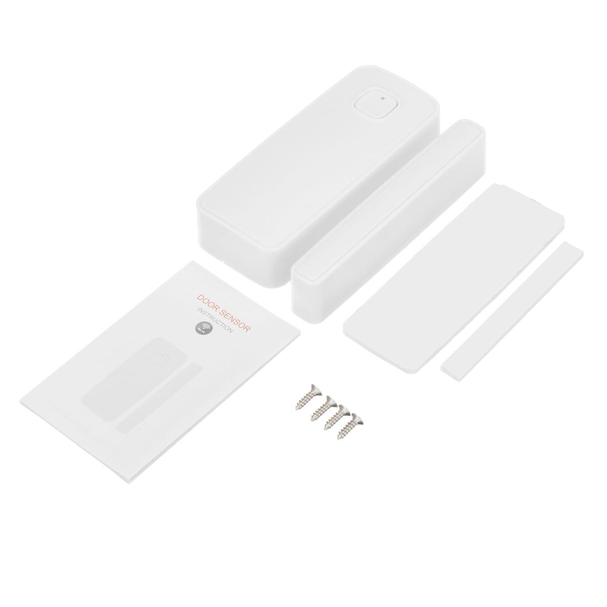 Image 5 - WiFi Smart Door Window Sensor Alarm Kit APP Control Remote Magnetic Detector Home Office Door Window Alarm Security System Set-in Sensor & Detector from Security & Protection