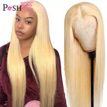 4x4 5x5 Closure Wig Middle Part 613 Blonde Lace Front Wig Human Hair 13*1 Brazilian Remy Straight Lace Front Wigs with Baby Hair