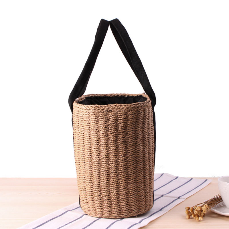 Oversized Straw Beach Bag, Beautiful Straw Tote Bag for Summer Vacation 2021