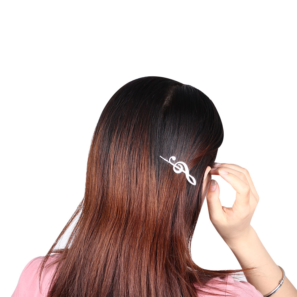 Lovely Personality Jewelry Punk Wind Accessories Hairpin Music Tone Women
