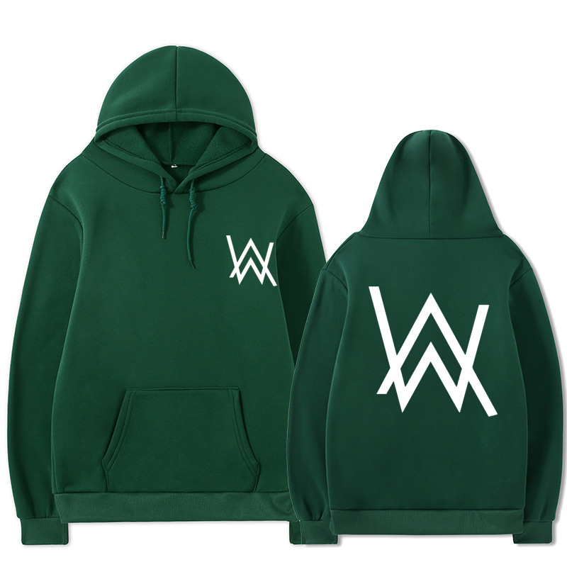 2021 Fall/Winter Alan Walker Hoodie Couple Loose Large Size Wild Casual Men and Women Pullover 11