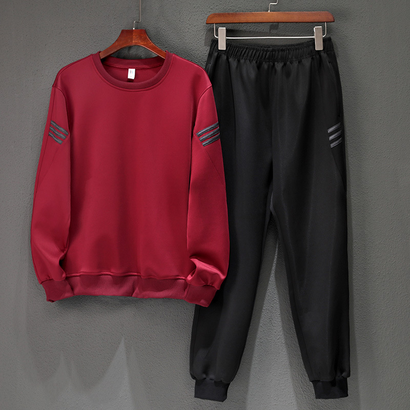 Men's Set Jogging Homme Workout Fitness Tracksuit Men Long Sleeves Sweatshirts Sporting Suit Pant Set Men Trainingspak Mannen