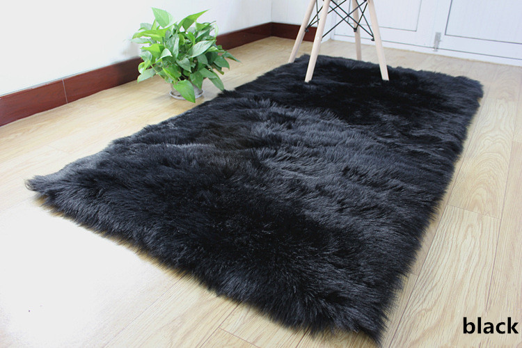 2 artificial wool large size long hair fluffy (3)