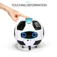 FX J01 Smart RC Robot Toys Smart Interactive Robot Gesture Control Voice Recognition Dialogue RC Toy Gift for Kids