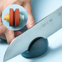 1PC Mini Cute Cartoon Whetstone Multi-function Knife Sharpener Portable Stable Knife Sharpener Kitchen Household Accessori