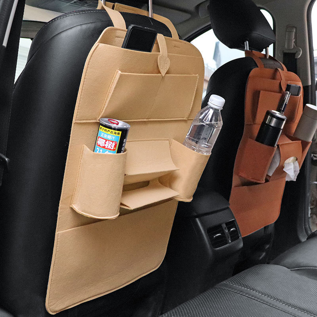 Leather Car Organizer 2