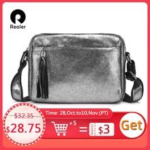 Mais real couro genuíno crossbody sacos para as mulheres 2020 borla ombro saco do mensageiro senhoras moda bolsas e bolsas design
