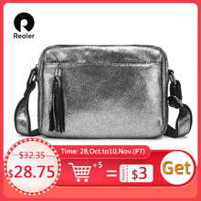 REALER сумка женская из натуральной кожи сумки женские через плечо сумка наплечная для женщин женские модные сумочки на плечо Классическая квадратная сумка ПРОМО КОД: PLUS300