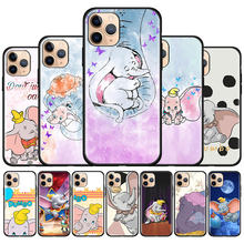 Dumbo Movie Leuke Siliconen Case Voor Iphone 11 Pro Max Se 2020 X Xs Xr Max 7 8 6 6S Plus Zachte Tpu Telefoon Gevallen Cover Couqe Fundas(China)