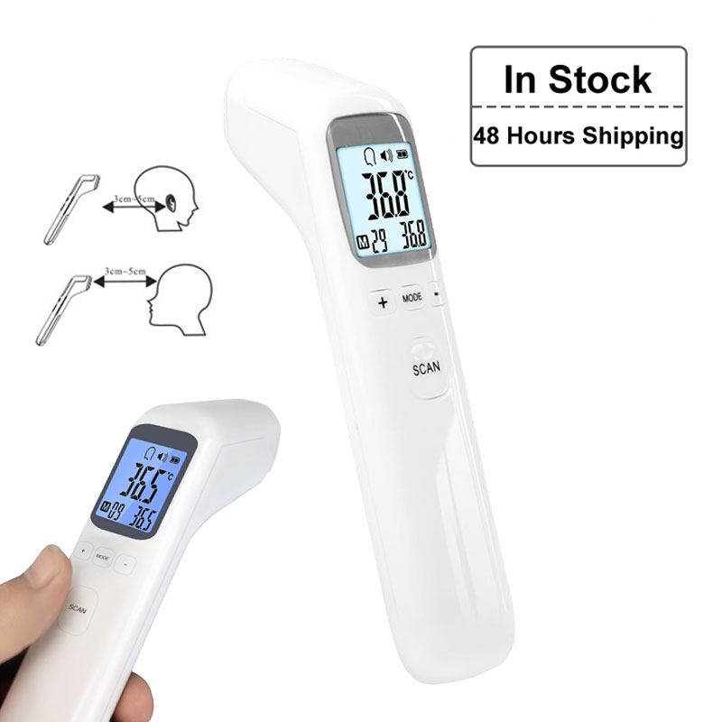 Baby Infrared Thermometer Newborn Baby Digital LCD Forehead Infrared Thermometer Adult Surface Temperature Health Care