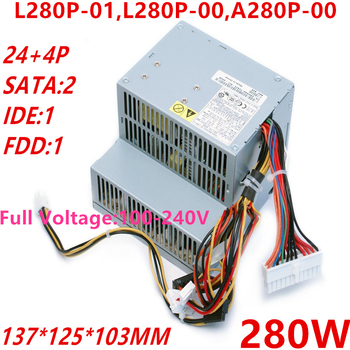 New PSU For Dell D1200 P9550 3100C C521 GX620/520 210L 320 330 740 755 280W Power Supply L280P-01 L280P-00 A280P-00 PS-5281-3DFS