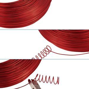 Image 3 - 500g 0.6/1.2/1.5/2.0/3.0mm alüminyum tel DIY takı bileşen aksesuarları bulma bulma kolye bilezik el sanatları malzemeleri