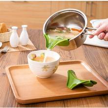 Kitchen Gadgets Soup-Tool Pouring Round 1pc Edge-Pan Random-Color Kapmore