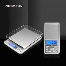 Digitale gramera precisie weegschalen Mini Weegschaal voedsel keukenweegschaal Smart Elektronische LED Digitale Gewicht Balance weegschalen bascula cocina