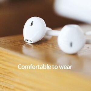 Image 5 - Lenovo DP20 basse son écouteur dans loreille Sport écouteurs avec micro pour Lenovo Xiaomi Samsung iPhone MP3 filaire contrôle HiFi écouteurs