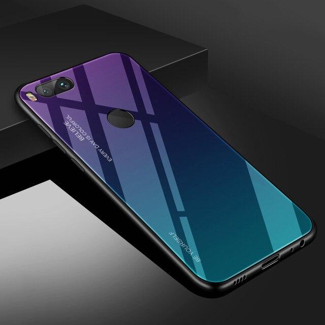 Чехол из закаленного стекла INIU для Xiaomi mi 9 SE 8 Pro A2 A1 Lite, Роскошный чехол для телефона mi x 3 2S Max 2 Note 3 Pocophone F1 - Цвет: 4