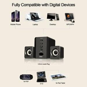 Image 3 - Ada D 202 Altavoces de combinación con cable USB para ordenador, reproductor de música estéreo de graves, Subwoofer, caja de sonido para PC y teléfonos inteligentes