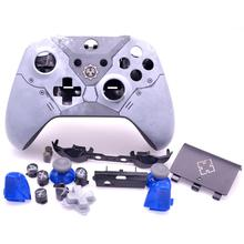 החלפת מלא Shell שיכון ערכת עם LB RB Thumbstick עבור Xbox אחת בקר 1708 הילוכים של מלחמת 5 מוגבל מהדורת