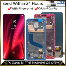 6.39 Amoled With Frame Display For XiaoMi Mi 9T LCD Display 9T Pro LCD Digitizer Assembly For Redmi K20 LCD K20 Pro Display