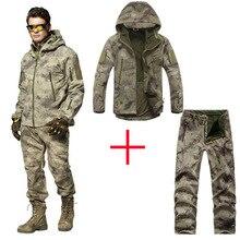 Мужские уличные водонепроницаемые куртки TAD V 5,0 XS Softshell охотничий наряд Термоодежда Тактический походный спортивный костюм