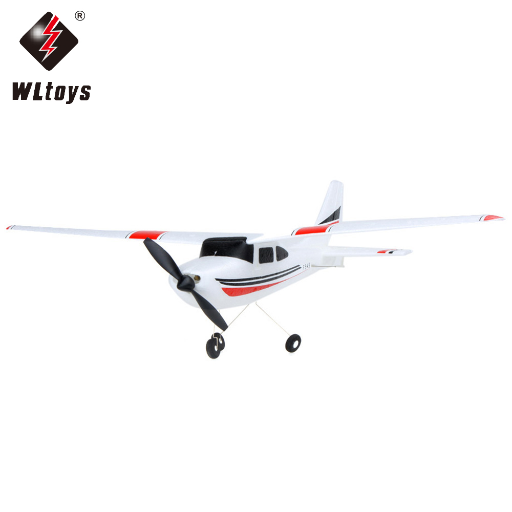 1pcs WLtoys F949 Mini <font><b>Cessna</b></font> 2.4G 3CH <font><b>RC</b></font> Airplanes 3CH <font><b>Cessna</b></font> <font><b>182</b></font> 2.4G <font><b>RC</b></font> <font><b>plane</b></font> for beginners image