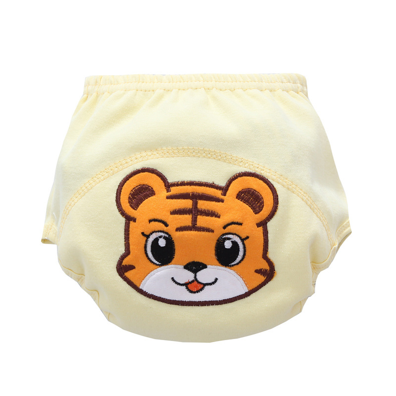 1pc Baby Cotton Diapers Waterproof  Nappy Cloth Diaper Training Pants Reusable Nappies Real Cloth Pocket Diaper Cover Wrap