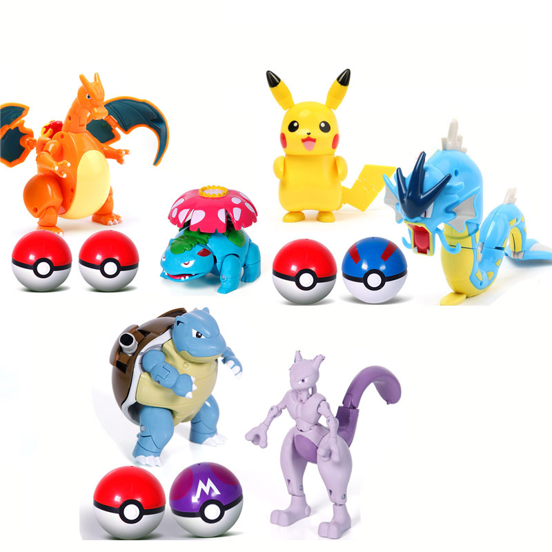 Ball Pokemon Transforming Toys 2